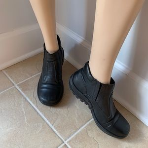 Shoes - LEATHER ANKLE BOOTS FOR LADIES, MADE IN ITALY